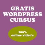 GRATIS WORPRESS CURSUS