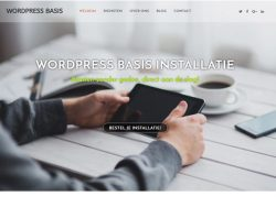 WORDPRESS INSTALLATIE BASIS